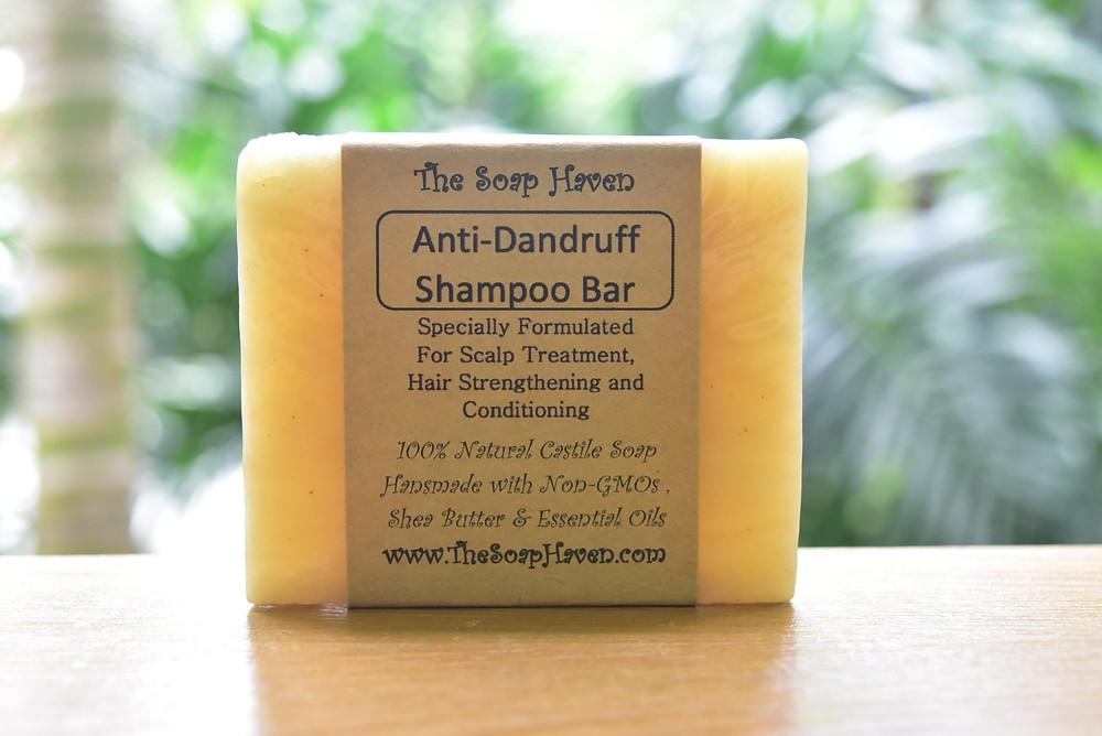 Anti-Dandruff Shampoo Bar for Seborrheic Dermatitis