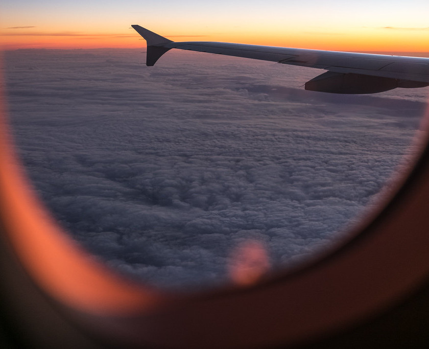 Intellectual Wellness - Travelling overseas on an airplane