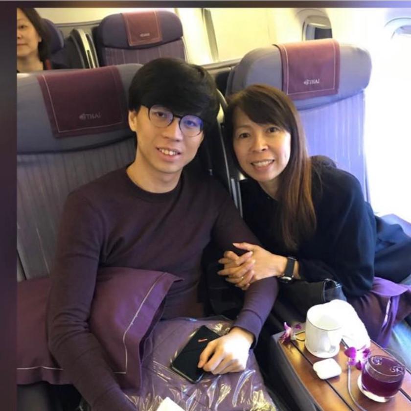 Ankylosing Spondylitis - Business class flight to japan with mum