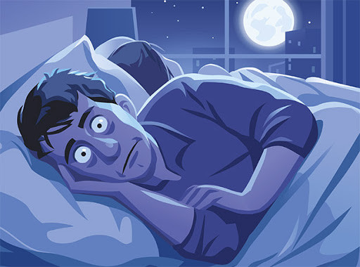 Signs of Eating Disorder - Insomnia, cannot fall asleep