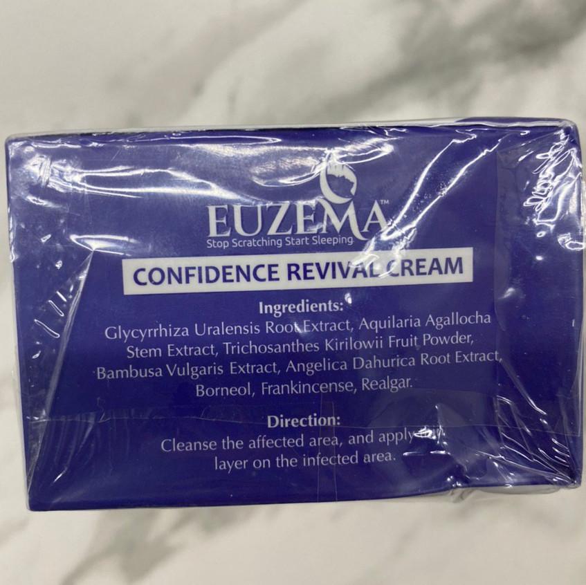 Euzema Confidence Revival Cream - Ingredients