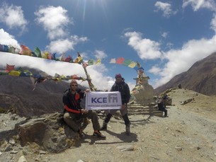 Island peak expedition 2017 with Ascent Explorers team & KCE FM