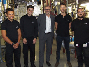 Two first-class apprentices join the KCE FM clan!
