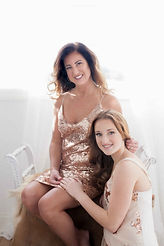 makeup, mother and daughter, portrait , sessin