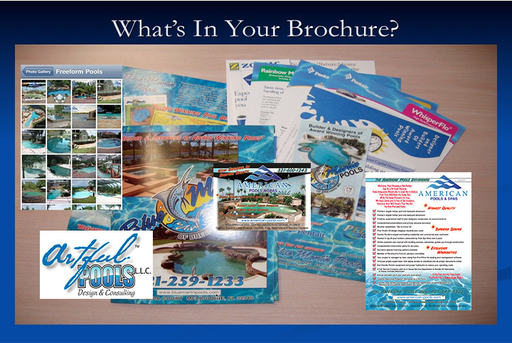 What's in your brochure?