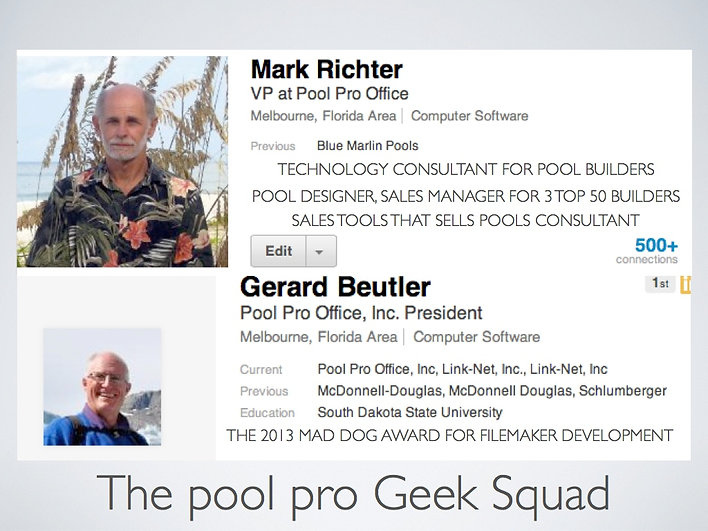Pool pro Office Technology Team