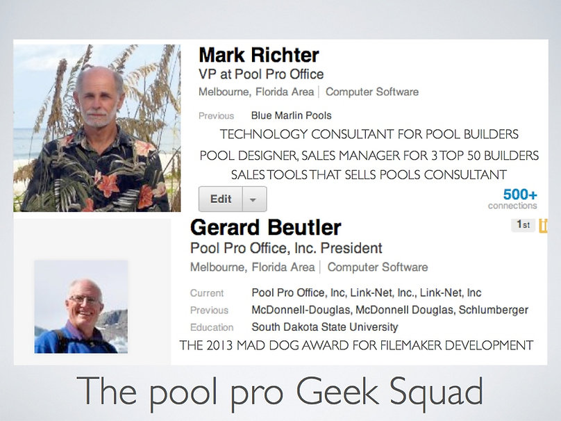 Pool Pro Office Mark Richter, Gerard Beutler