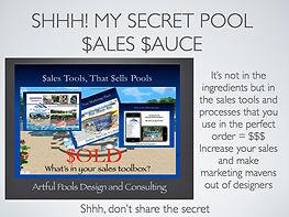 Secret Sales Sauce