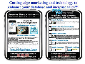 Mobile Marketing for pool builders
