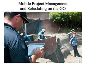 Mobile project management on iPad