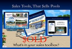 Sales tools that sells pools