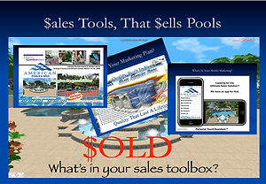 sales tools that sells pools