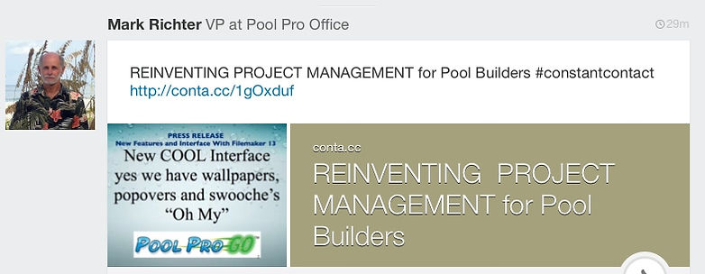 Reinventing Project Management for pool builders