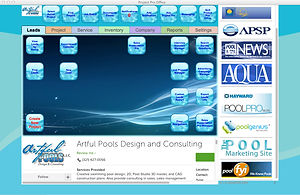 Pool Pro Office project management software for pool builders