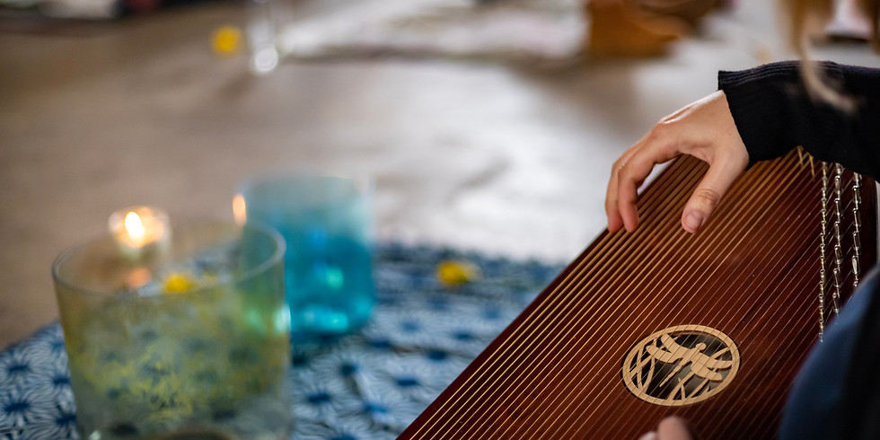 Find Your Now: Gentle Flow Yoga, Improvised Harp and Sound Bath