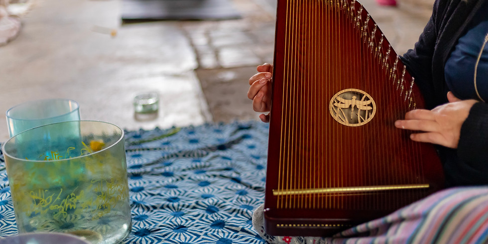 Found Your Now: Yin with Harp and Sound Bath Margate