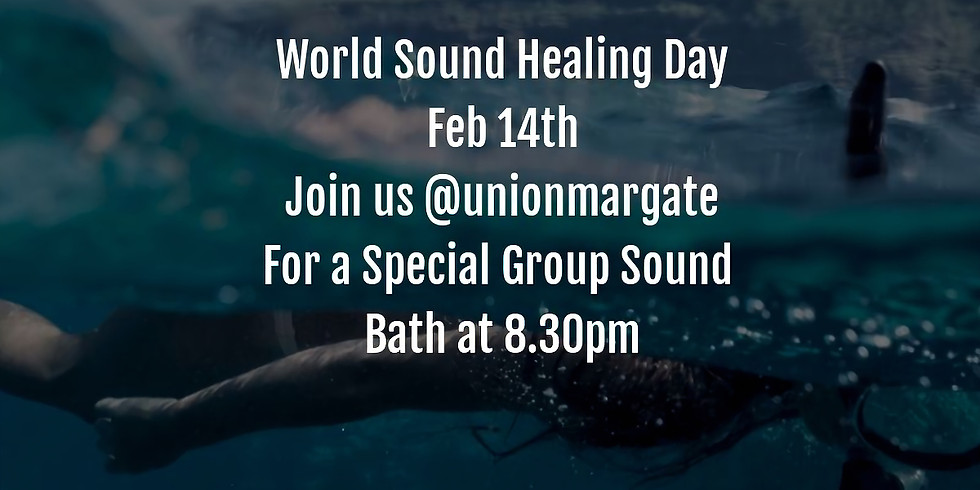 World Sound Healing Day - Special Sound Bath