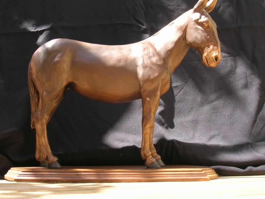 Mule sculpture