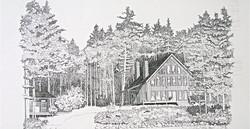 Lake house rendering
