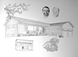 Home rendering sketch