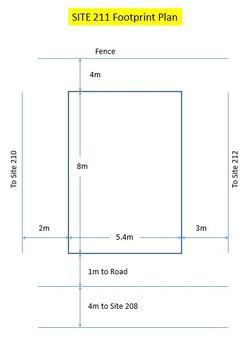 Site 211 - Footprint Plan
