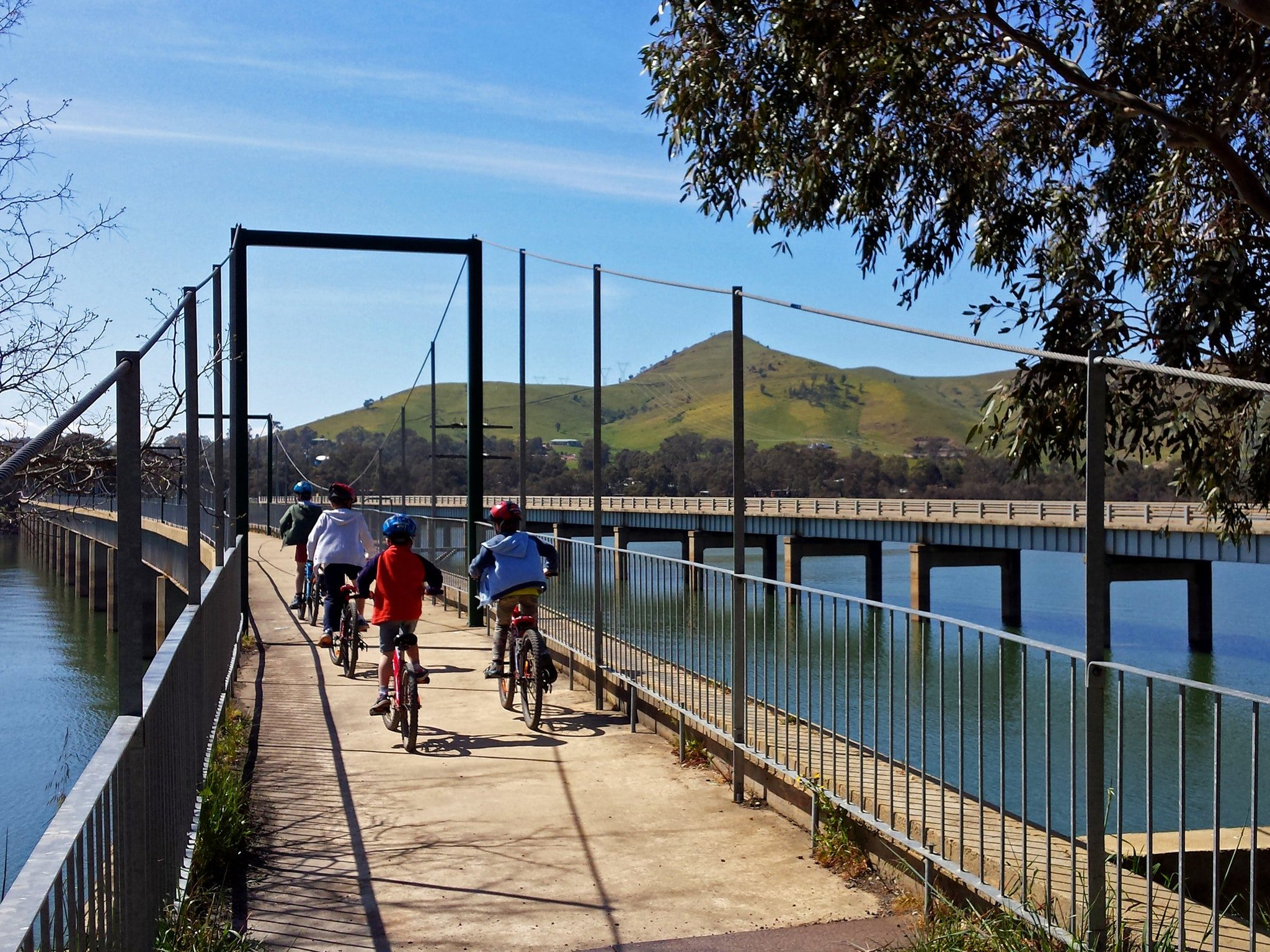 Rail Trail - Bonnie Bridge