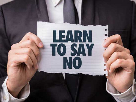 "When to Say ""No"" to a Customer"