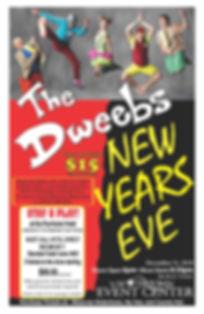 Dweebs Poster NYE 2019 no Etix.jpg