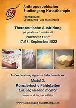 Plakat Studiengang KT Ausbildung und M3-