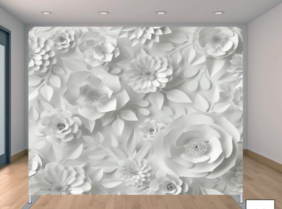 White Roses 3-D