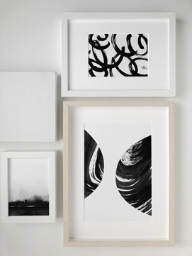 Abstract Gallery Wall