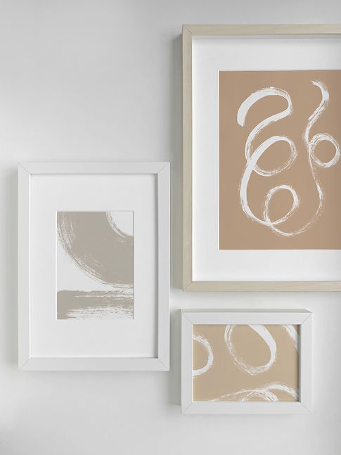 Forma Collection Gallery Wall by Melissa Selmin