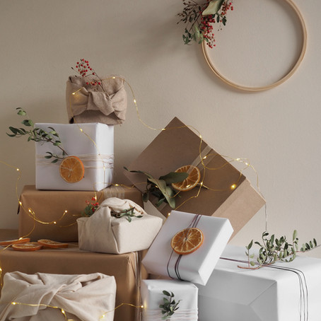 Sustainable Christmas Gift Wrapping Inspiration With Hobbycraft [AD]