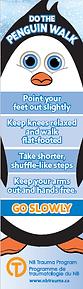 Walk Like a Penguin - Bookmark - English