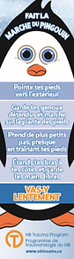 Walk Like a Penguin Bookmark - French.pn