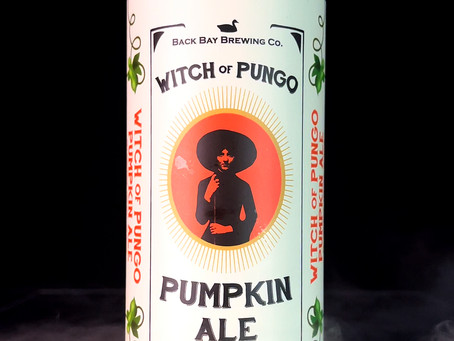 The Witch of Pungo Craft Beer Review - Back Bay Brewing's Farmhouse