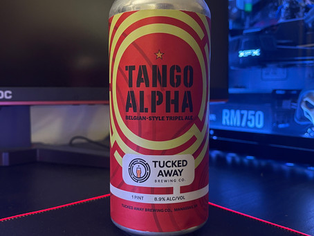 Tango Alpha Craft Beer Review - Tucked Away Brewing Company