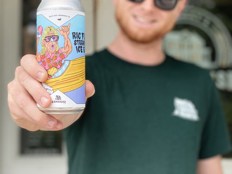 Ric Flair's Strawberry Ice Gose, Farmhouse Brewing Co. - Craft Beer Review