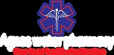 Agnes Pharamacy Logo - white writing PNG