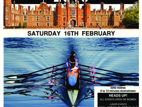 Molesey Head Races - Saturday 16th February