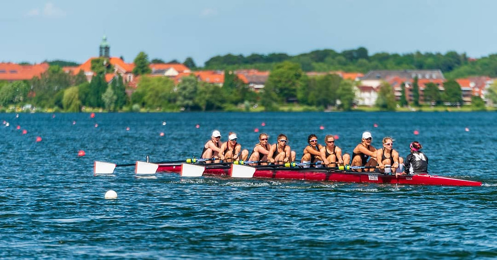 2nd Place for the Women's 8+