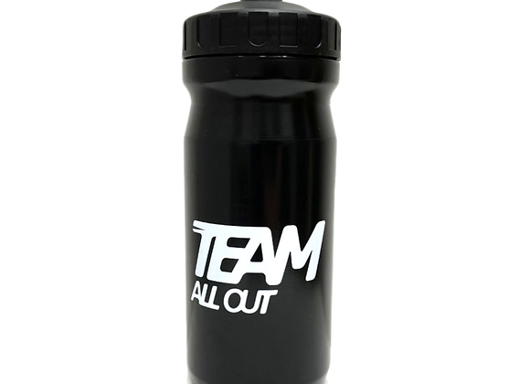 TEAMALLOUT WATER BOTTLE BLACK EDITION 600ML