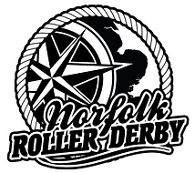 Norfolk Roller Derby logo