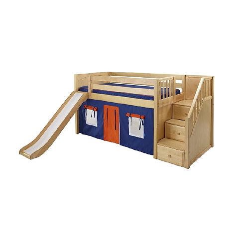(低) 箱梯、滑梯高架床組