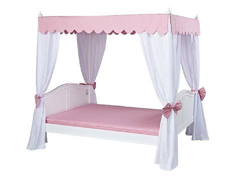 頂級華麗公主全套床組 (含床柱及全套遮簾)