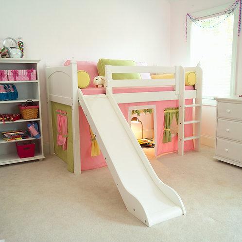 (低) 直梯、滑梯高架床組(不含床下遮簾)