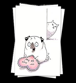 Pug Valentines Ur Not So Bad thumbnail v