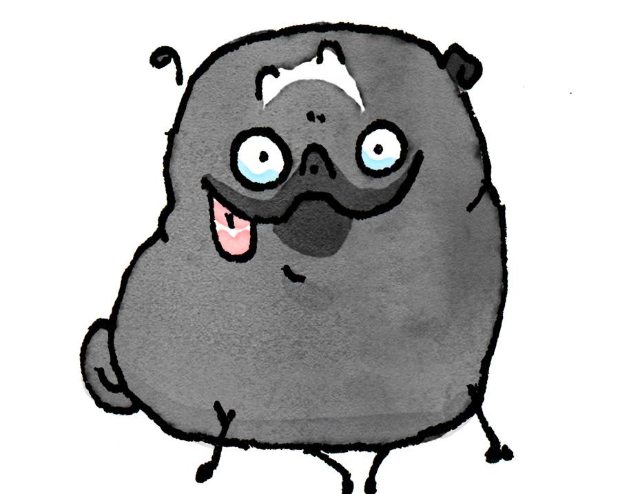 Pug Poses Happy Derp JPEG.jpg