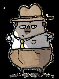 Fetch Ketchum PI stand clip art.png