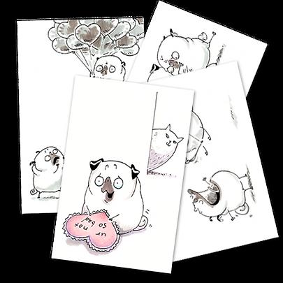 Pug Valentines sketches thumbnail.png